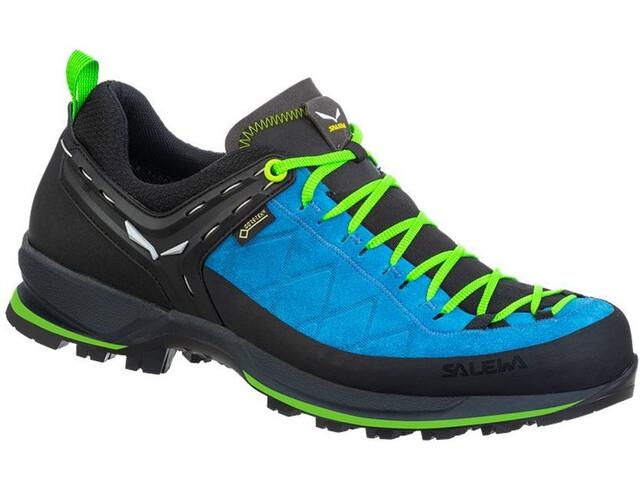 SALEWA MTN Trainer 2 GTX Zapatillas Hombre, blue danube/fluo green